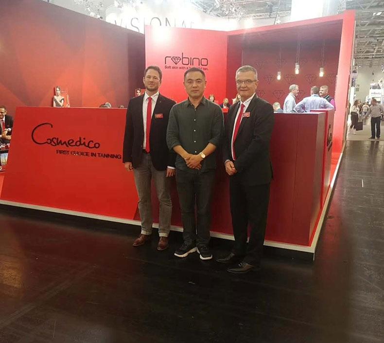 广州美利康光电科技正式与德国Cosmedico签订独家代理战略合作关系